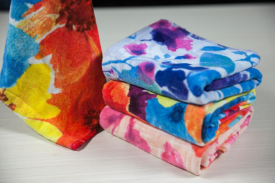 活性印花巾